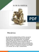 Las Ciencias de La Robotica