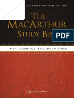 NASB, The MacArthur Study Bible - Mark