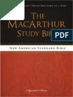 NASB, The MacArthur Study Bible - Mark