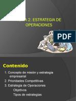 2 Estrategia de Operaciones