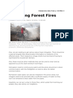 Spreading Forest Fire