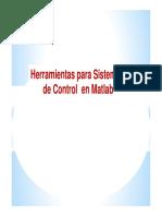 MATLAB CLASE 9 - Herramien. Para Sist. de Control y SIMULINK