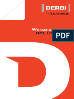 Derbi GP1 125 and 250 Workshop Manual