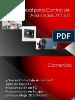 Control de Asistencias con ZKT Software 5.0