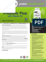 Naturliga PROBIOTIC PLUS with VITAMIN D3