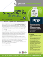 NATURLIGA OMEGA-3 FISH OIL with EPA & DHA