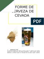 Informe de Cerveza