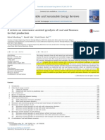 A Review on Microwave Assisted Pyrolysis of Coal and Biomass for Fuel Production