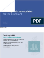 Building real-time updates for the Graph API