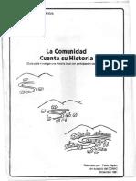 La Comunidad Cuenta Su Historia. Pablo Kaplun