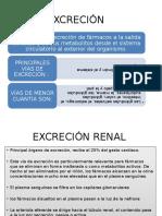 excrecinrenaldefarmaco