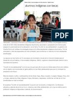 21-07-16 Beneficia Claudia a alumnos indígenas con becas educativas. - Opinión Sonora