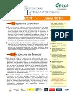 Diagnostico Economico - Ecuador Junio 2016