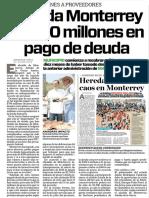 12-09-16 Liquida Monterrey $1,000 millones en pago de deuda