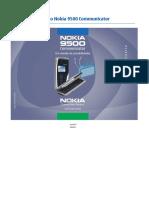 Nokia 9500 User Guide PT