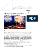 2. Introducción y Estructura del libro apocalipsis