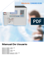 Spanish User Manual-Medonic CA 530 620