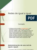 Redes de Igual a Igual Nidia Carlos Denis