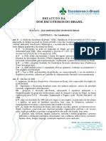 Estatuto Da Uniao Dos Escoteiros Do Brasil
