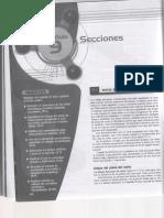 Cortes Secciones