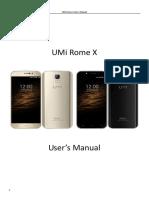 RomeX Manual