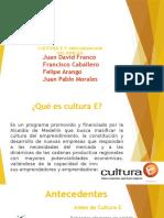 Diapositivas Cultura e
