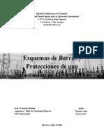Esquemas de Barras y Protecciones de Una Subestación