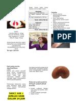 Leaflet keseimbangan cairan pada pasien CKD