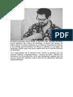 Entrevista al poeta Emersson Pérez y el surgimiento de la nueva movida literaria alternativa en Santiago