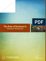 Role of Business in Disaster Response