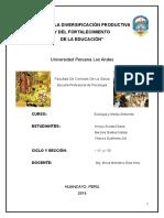 Monografía de Ecología - Reciclaje 1