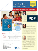 ELLs in Texas - What Teachers Need to Know