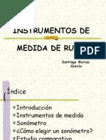 Instrumentos de Medida de Ruido (1)