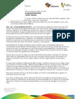 03 12 2011- El gobernador de Veracruz, Javier Duarte dio claquetazo de inicio de la telenovela La mujer de Judas