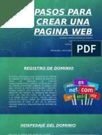 Pasos para crear una Pagina web.pptx