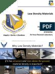 Harrison - Low Density Matls