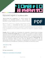 Gaycionario Argento O by Mhoris EMm