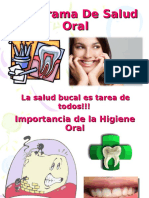 Rotafolio Salud Bucal