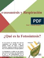 Presentación 1 Fotosintesis y Respiracion