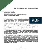 Suarez, Fernando-Costumbre Indigena