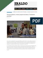 """23-8-16 Presenta Manolo Jiménez proyecto de becas """"Estudiando para Bien"""""""