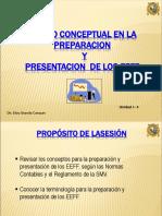 1-4. Marco Conceptual en La Preparación y Presentación de Los EEFF