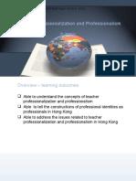 T2 - Teacher Professionalization and Professionalism (2014)