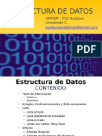 Clse 01 de Estructura de datos