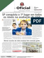 10.09.16 Notícia SP Conquista o Primeiro Lugar Em Todos Os Níveis Na Avaliação Do IDEB