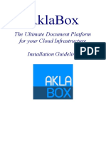 AklaBox Platform Installation