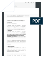Aspectos Da Perícia Judicial No Novo Código de Processo Civil - Gilberto Melo