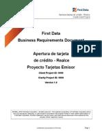 BRD Respuesta Interfaz Apertura TC Realce (Cuentas Nuevas) V3