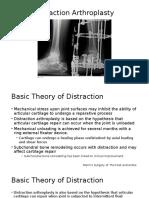 Ankle Distraction Arthroplasty