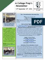 Newsletter - Week 5